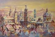 Панорама Львова. Етюд