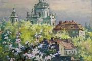 Львів. Весна на Святоюрській горі