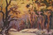 Немирів. Захід сонця